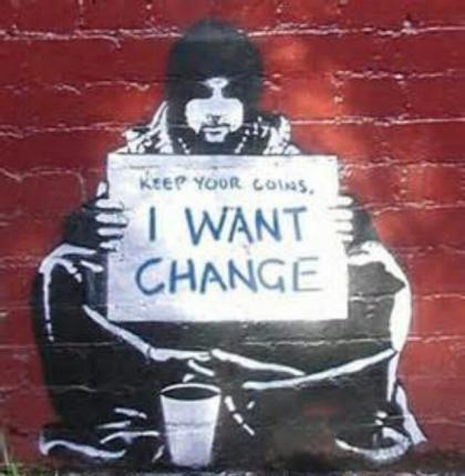 i want Change, keep your coins